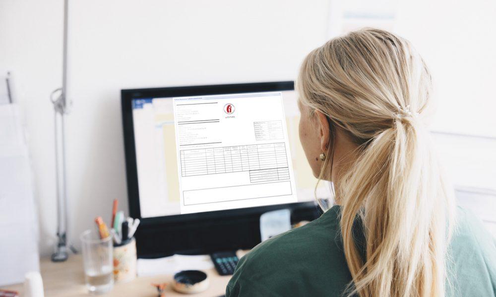 e-fatura tasarımı